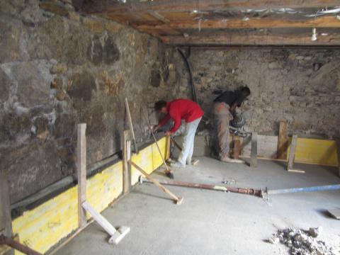 Renforcement mur